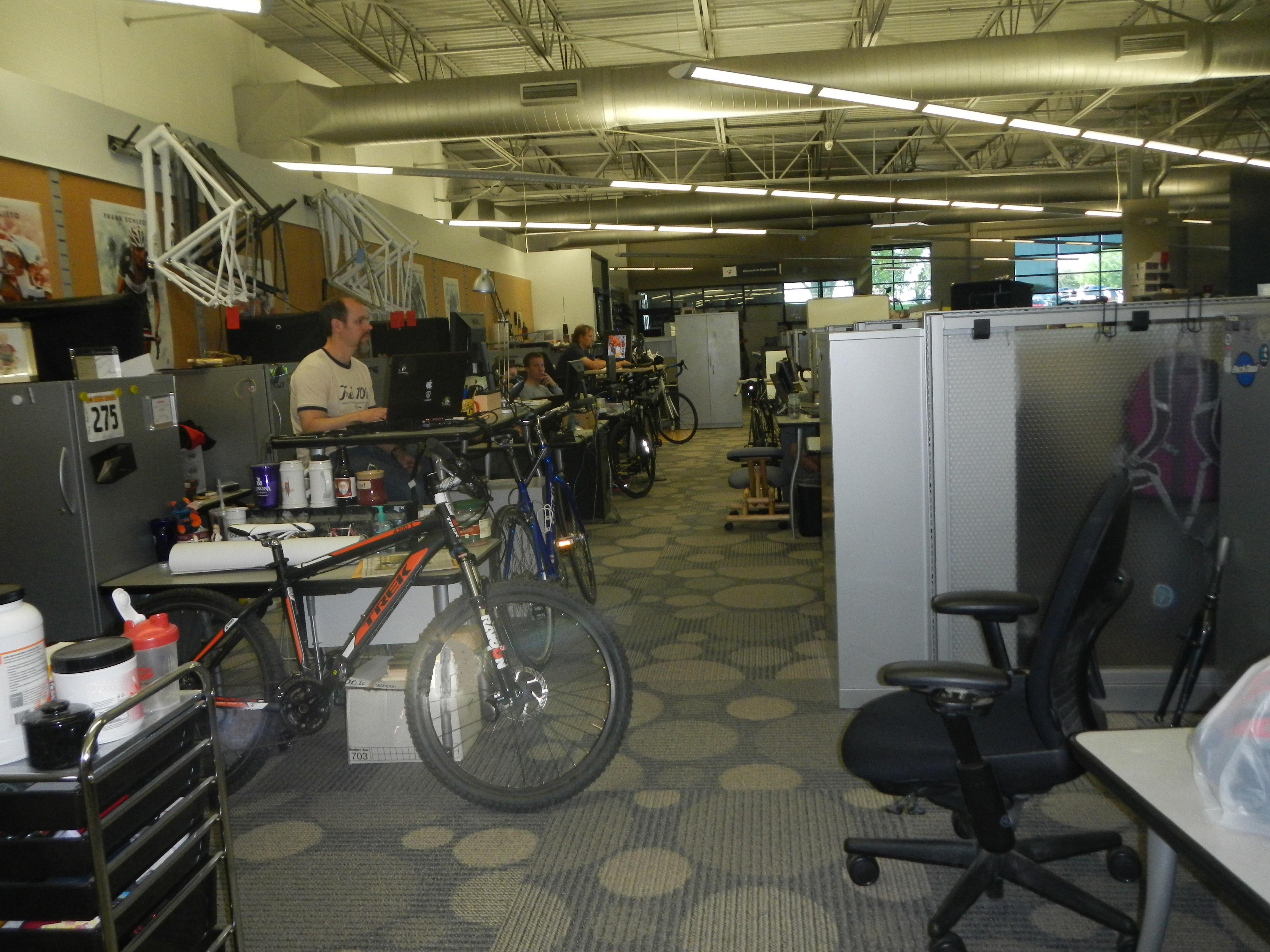 Inside Trek offices