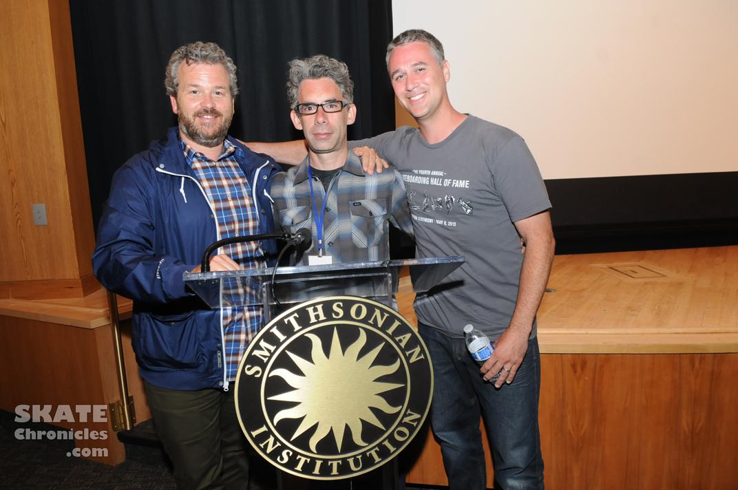 Jacob Rosenberg, Bret Johnston, and Josh Friedberg at Innoskate. Photo by Ray Llanos, SkateChronicles.com.