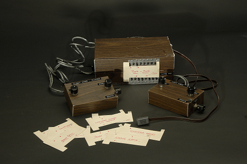 In 1967, Ralph Baer and his colleagues at Sanders Associates, Inc. developed a prototype for the first multiplayer, multiprogram video game system.