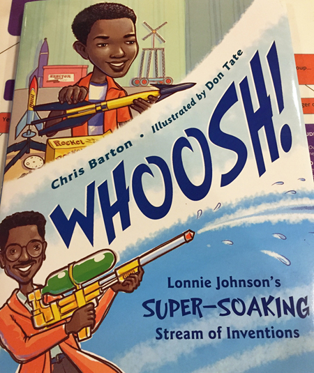 Cover of Whoosh! by Chris Barton