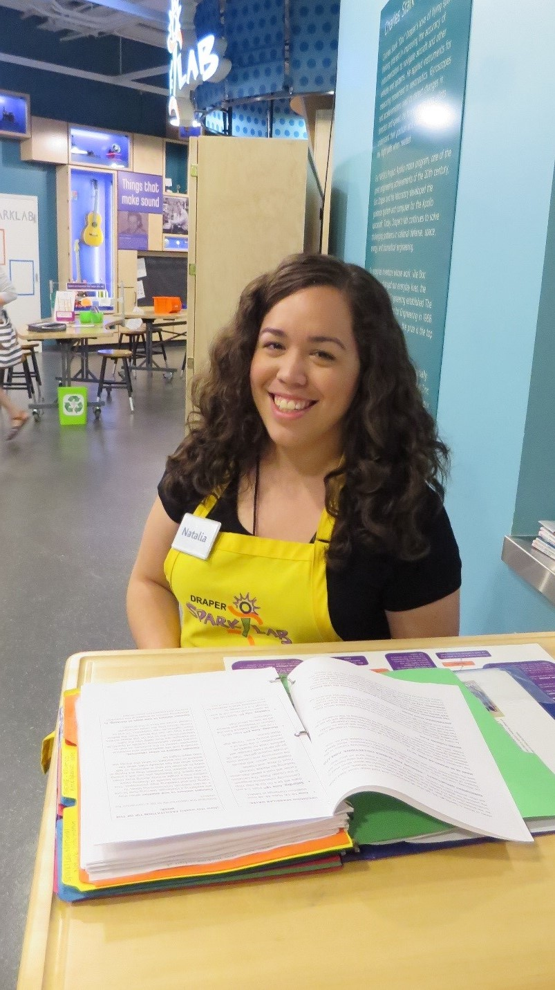 Spark!Lab Lead Facilitator Natalia Febo