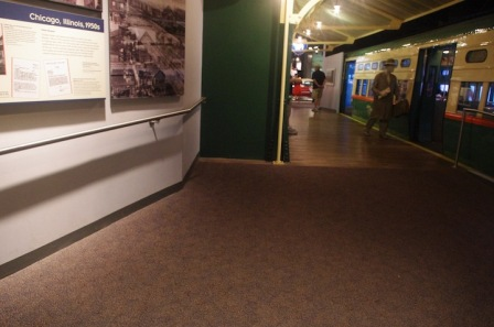 Ramp in America on the Move, an exhibition at the National Museum of American History