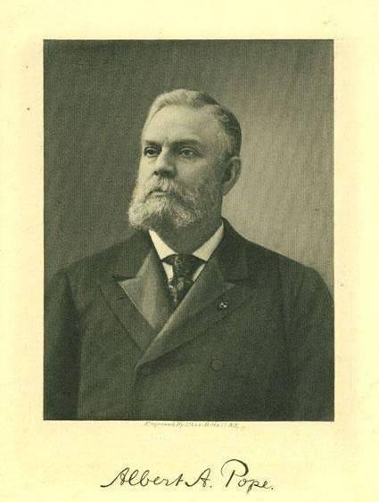 Albert Pope, circa 1900