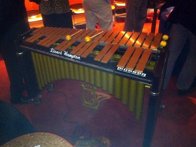 Lionel Hampton's vibraphone