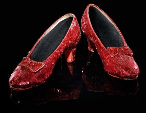 "Dorothy's ruby slippers from ""The Wizard of Oz,"" 1938"
