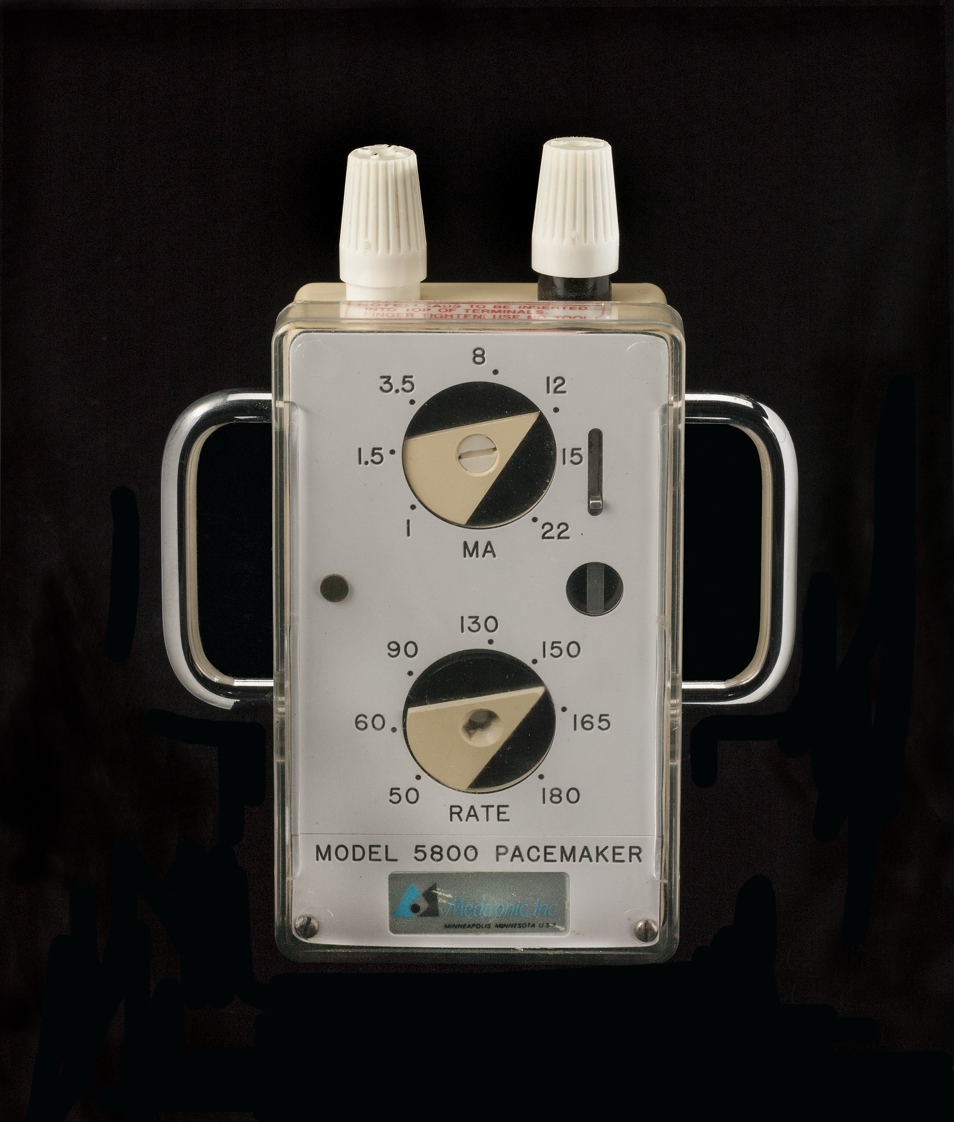 Medtronic 5800 Model External Pacemaker, about 1972