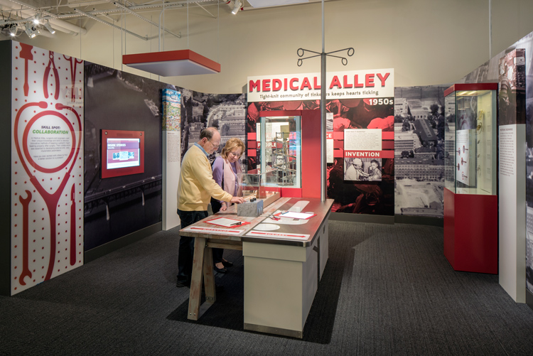 Image of Medical Alley exhibition