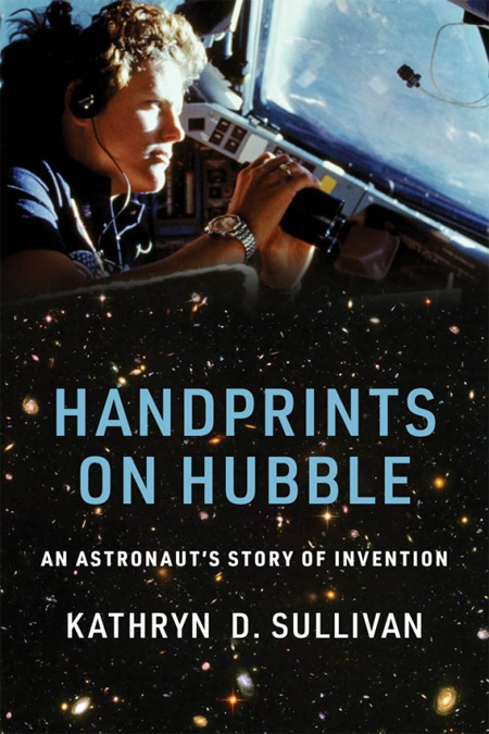 Cover of Handprints on Hubble: An Astronaut's Story of Invention