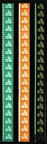 Example of Eastman Kodak's two-color Kodachrome process of the 1910s and 20s