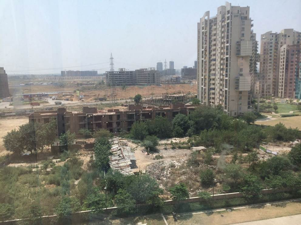 A view of Gurgaon from our newest Spark!Lab.
